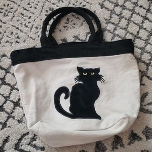 Chat noir tote